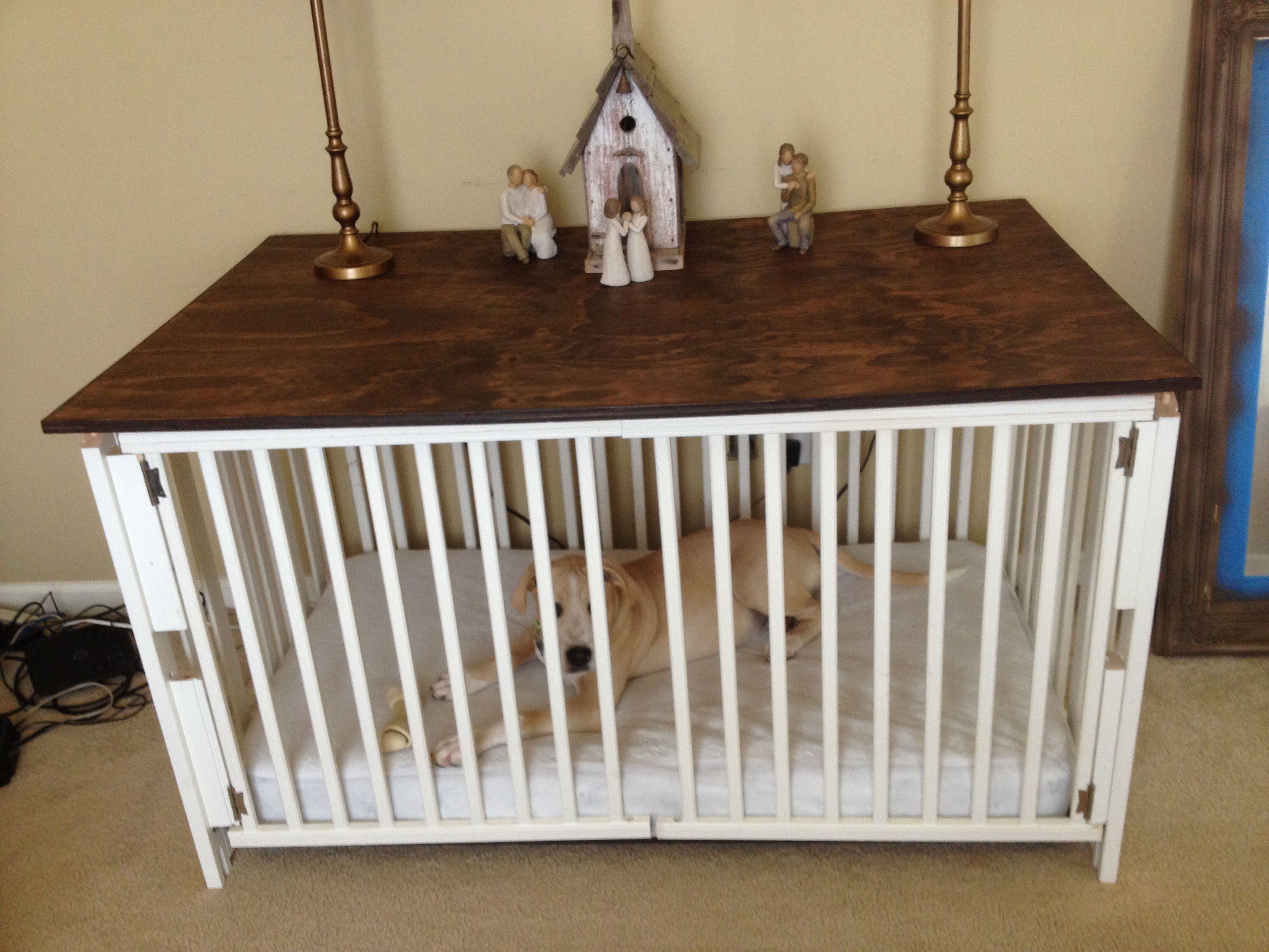 Remodel That Old Baby Crib For Your Home Décor 1