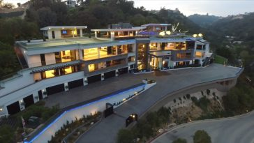 $250 MILLION BEL AIR MEGA MANSION