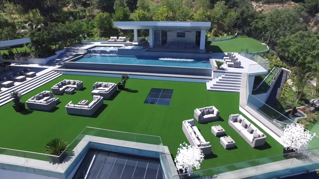 Dan Bilzerian new house BEL AIR MEGA MANSION Worth $250 Million 2