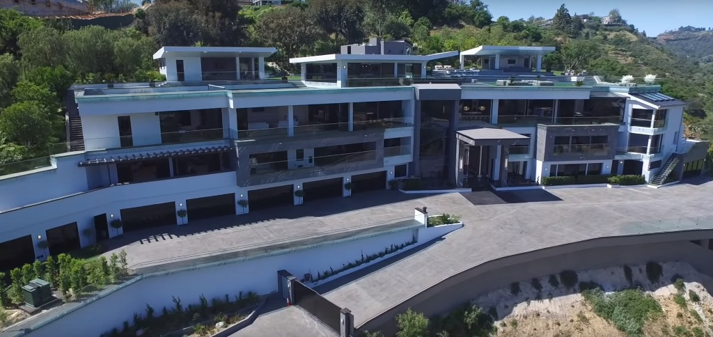 Dan Bilzerian new house BEL AIR MEGA MANSION Worth $250 Million 1