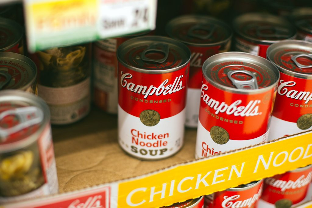 canned food chicken