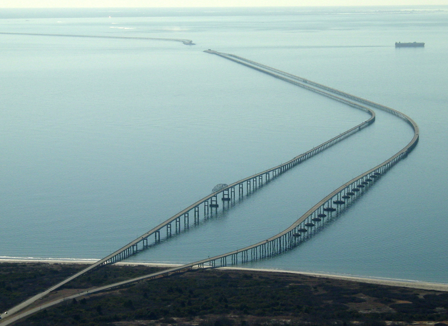 chesapeake bay bridge tunnel virginia