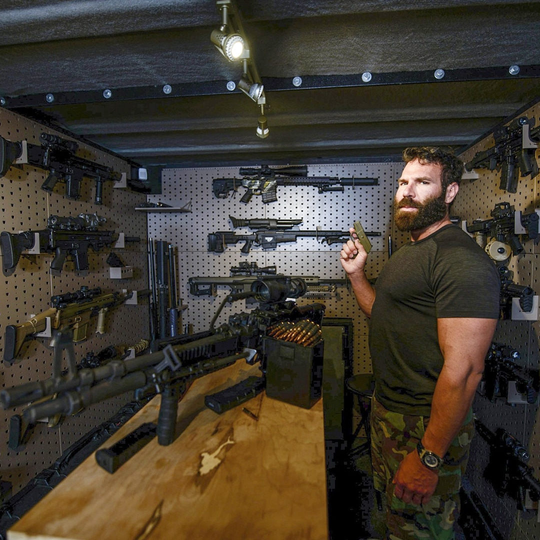 Dan Bilzerian gun room