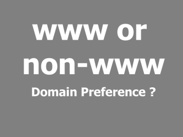 domain preference 364x273 - www or non-www URL, see which one is better for you