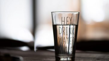 water reminder glass