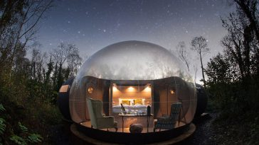 finn lough bubble ireland 364x205 - Did you know that there are places in this world where you can sleep in a bubble?