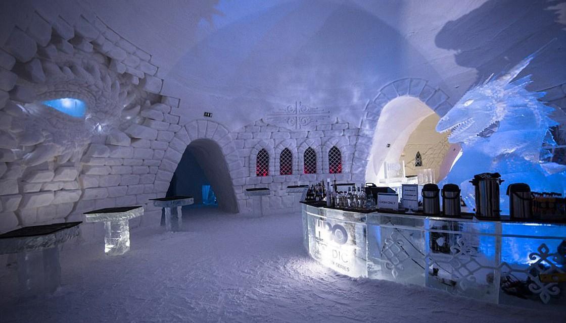 Snow Village finland games of thrones