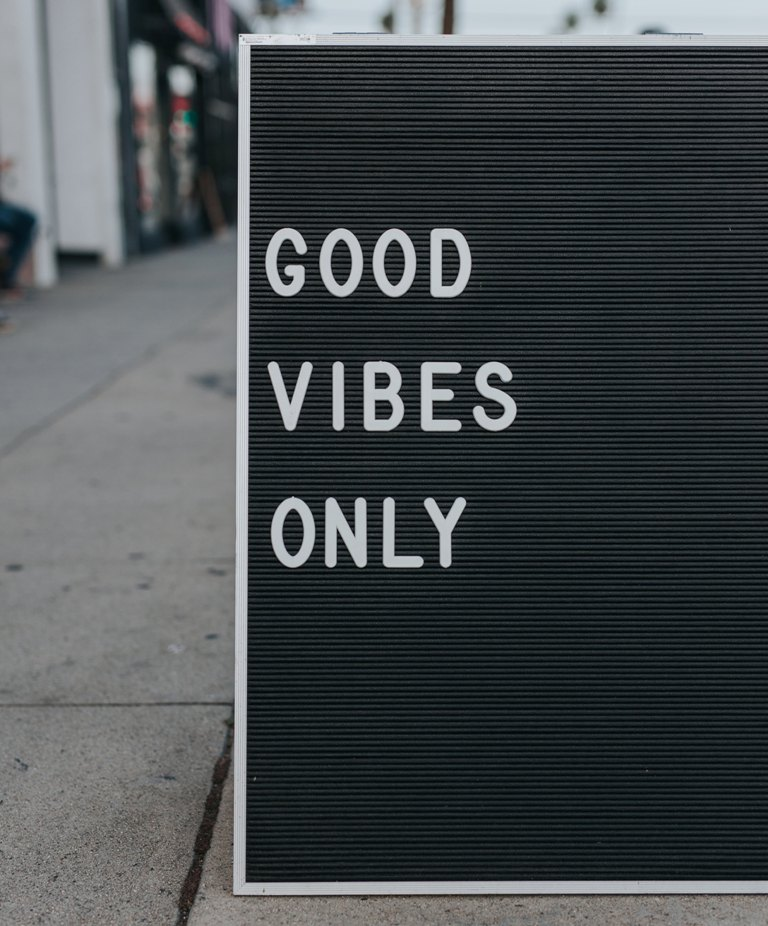 good vibes only - 5 Ways To Say Goodbye To Loneliness