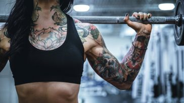 gym workout tattoo 364x205 - 3 Tips That Will Make You Fall In Love With Your Gym