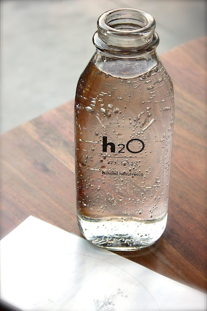 h2o water bottle clean and clear