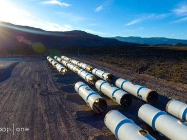 Hyperloop travel pipes