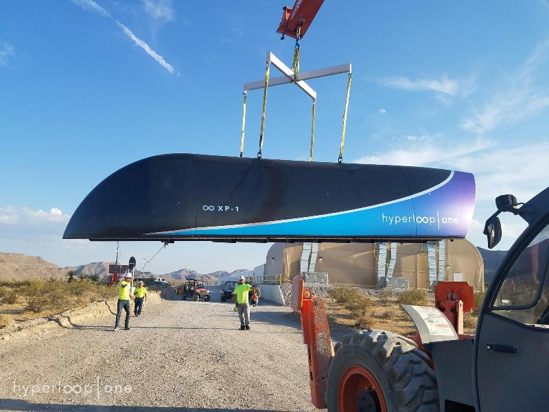 Hyperloop clears test
