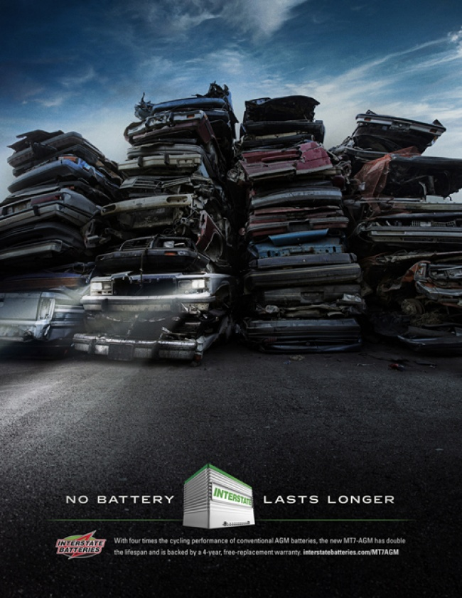 Ads describe product aptly battery