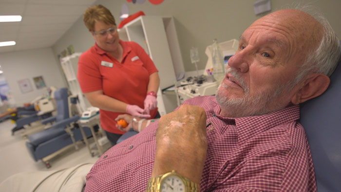 james harrison australia donating blood - James Harrison Saves 2 Million Lives By Donating Blood Every Week For 60 Years