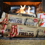 Get This New KFC Firelog That Smells Like Fried Chicken In Your Fireplace