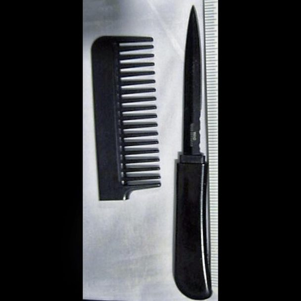 knife confiscated tsa airport