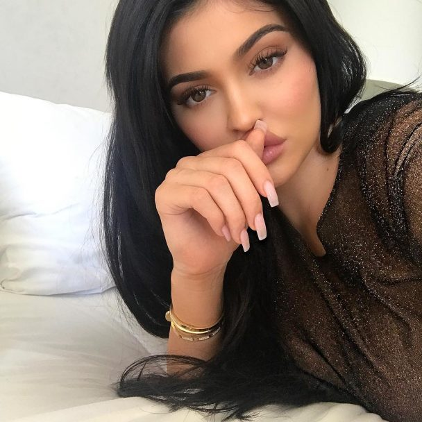 Kylie Jenner named her daughter Stormi