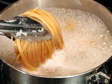 pasta water