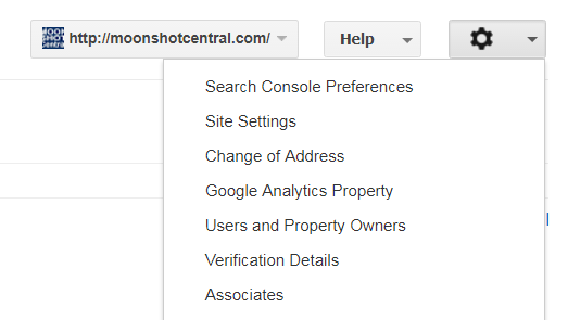 www vs non-www URL google search console option