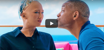sophia will smith dating 364x177 - AI Robot Sophia dated Actor Will Smith and when he tried to kiss her, this happened