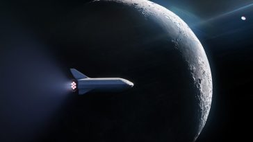 SpaceX unveils its first customer for Moon sighting