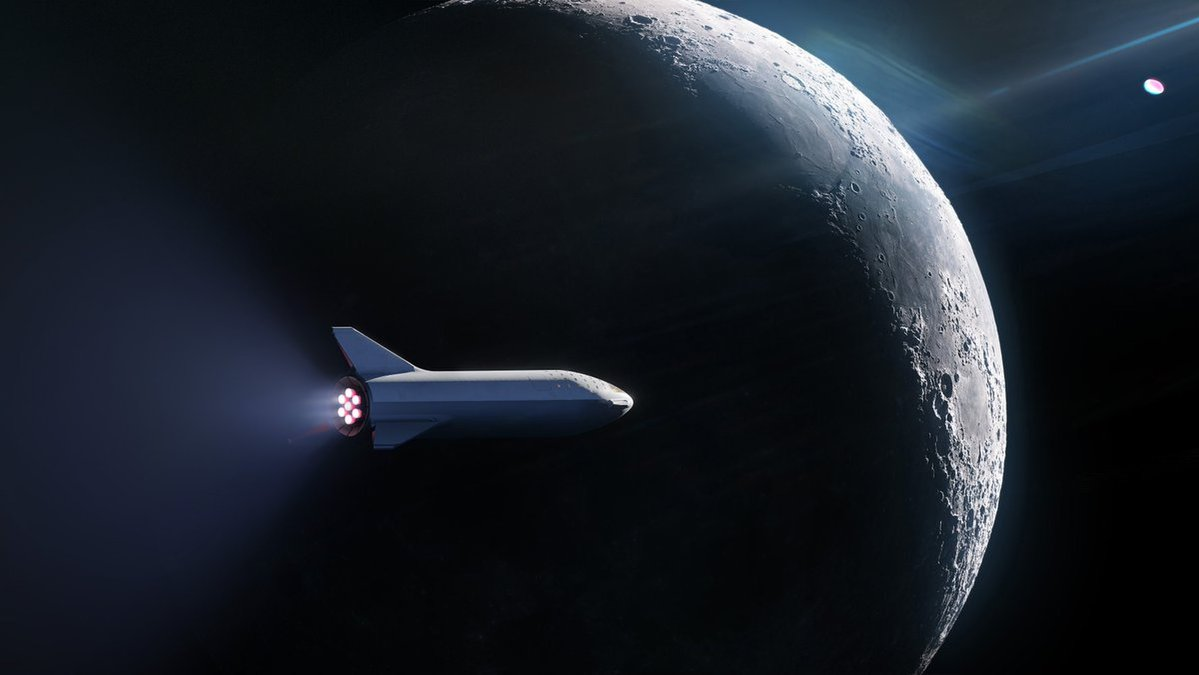 spacex moon travel 2 - SpaceX unveils its first customer for Moon sighting