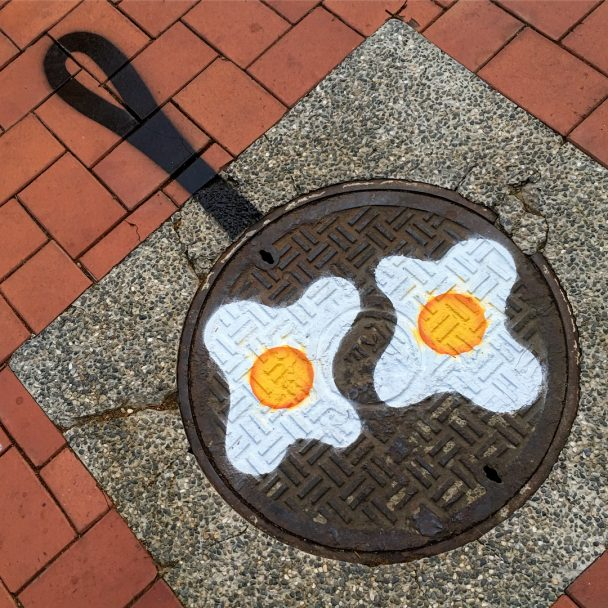 street egg design tom bob 608x608 - Meet the street artist Tom Bob with a difference