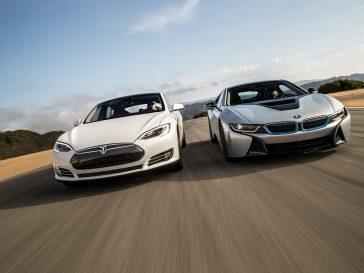 tesla bmw 364x273 - Tesla beats BMW for a moment