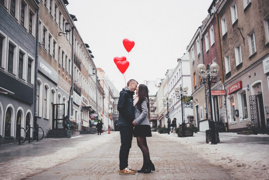 two couple standing heart valentines day - What You Should Do On Valentine's Day According To Your Zodiac Sign