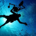 underwater man scuba diving