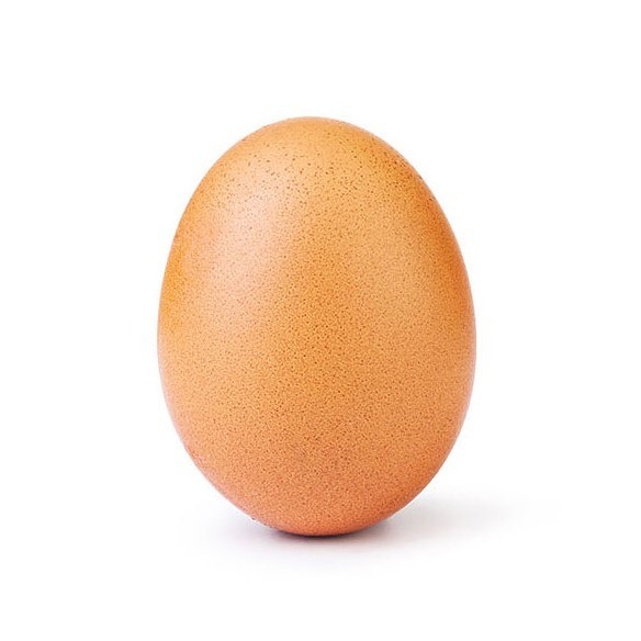 An ordinary photo of an Egg beat Kylie Jenner's Instagram Record